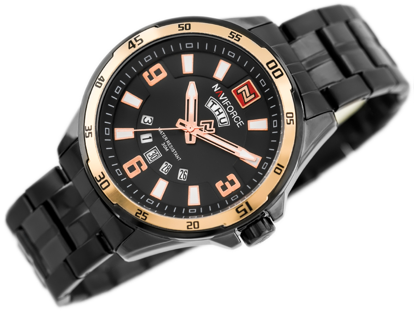 NAVIFORCE - NF9106 (zn063d) - black/rosegold