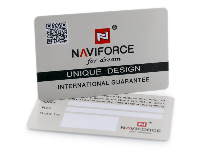 NAVIFORCE - NF9109 (zn064b) - silver/black
