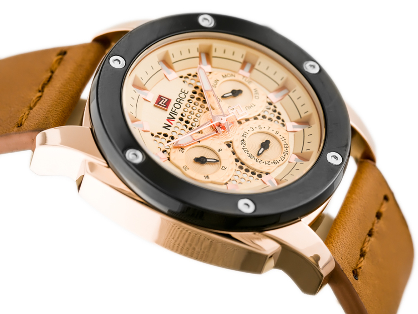 NAVIFORCE - NF9116 (zn057e) - camel/rosegold