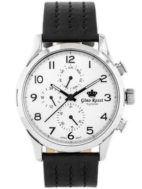 2fa2313d3515f GINO ROSSI - E-11088A - EXCLUSIVE (zg241b) Black || Silver | MENS ...