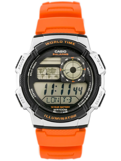 CASIO AE-1000W 4BV (zd073d) - WORLD TIME