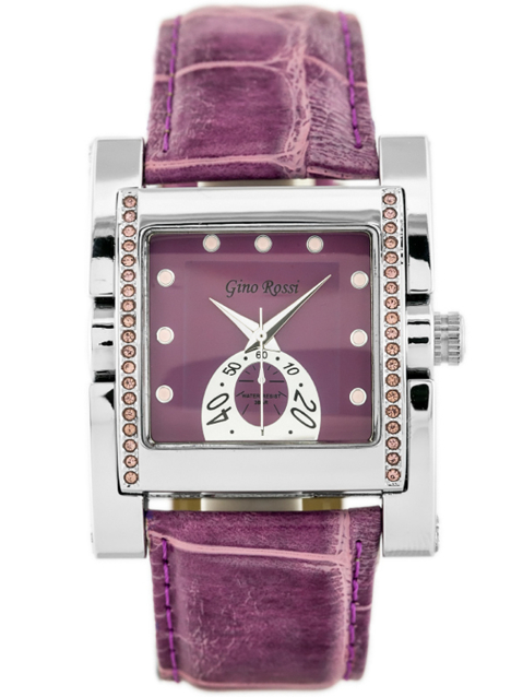 GINO ROSSI - 6814A (zg564d) violet/silver