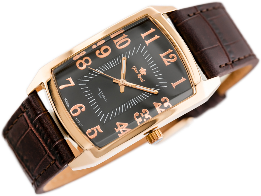 GINO ROSSI - 9260A (zg031c) rose gold/brown