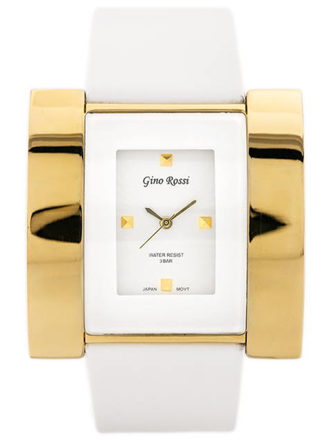 GINO ROSSI - ELEPHANT (zg509a) white/gold