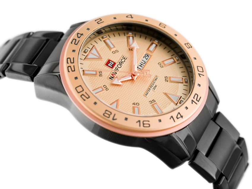NAVIFORCE - NF9109 (zn064e) - rosegold/black