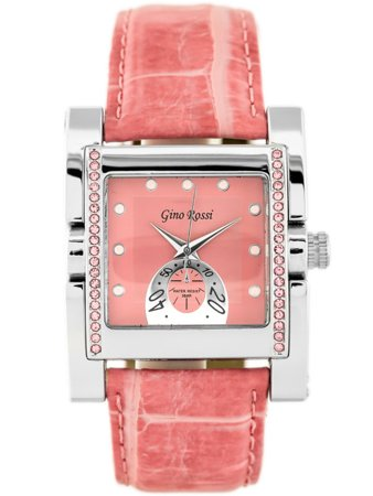 GINO ROSSI - 6814A (zg564b) pink/silver