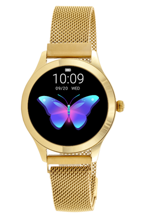 SMARTWATCH Rubicon  - Gold (zr604e)
